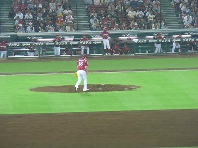 広島カープVS楽天(交流戦)で田中将大3安打完封勝利