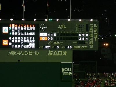 カープ観戦(マツダスタジアム)